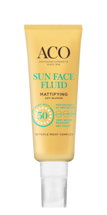 Aco Sun Face Fluid Mattifying SPF 50+