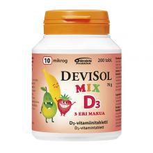 DeviSol Mix 10 µg 200 tabl