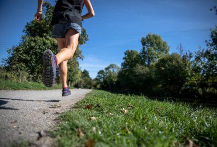 Kävely ja juoksu ovat hyviä liikuntamuotoja